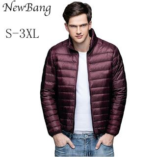 Multi Colors Winter Parka Man Ultralight Down Jacket Feather Men 90 Duck Down Outdoors Stand Collar Lightweight With Carry Bag (32373702262)  SEE MORE  #SuperDeals