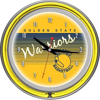 Golden State Warriors Team Logo Wall Clock