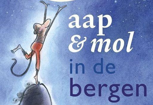 mol en aap - Gitte Spee mooi om voor te lezen en aangenaam hoe mol en aap zo goed met elkaar omgaan , te vinden in Muntpunt