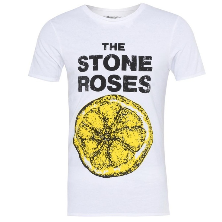 Amplified Stones Roses Lemon Crew Neck T-shirt £23.99