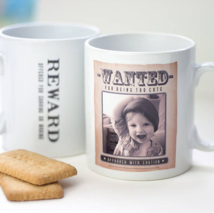 Wanted Poster Mug – Little Pieces