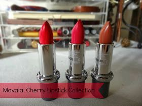 Lipsticks and Tea Cups: Review: Mavala Lipsticks Cherry Collection