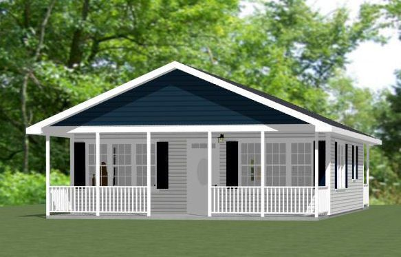 Ft: 895. 1 bedroom, 1 bath home with a dishwasher, & microwave over range. Floor / Ceiling Framing Plan. Roof Framing Plan. An estimated materials list for the doors, windows, and general wood framing only, also in PDF format.