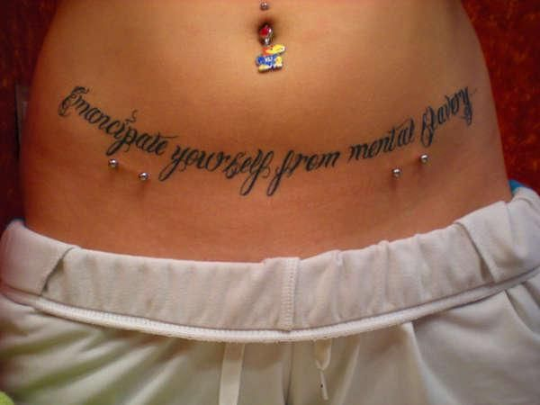 sexy female stomachs | 25 Dandy Stomach Tattoos For Women - SloDive