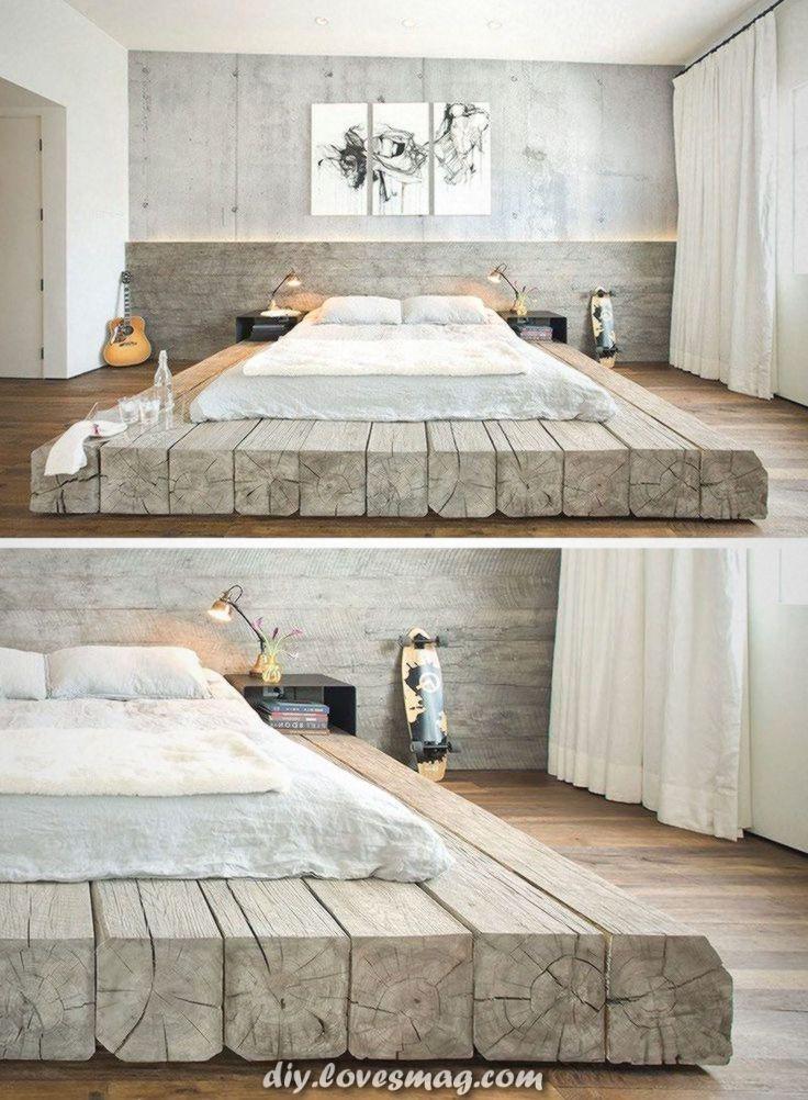 Aussergewohnlich Schlafzimmer Design Idee Stellen Sie Ihr Bett