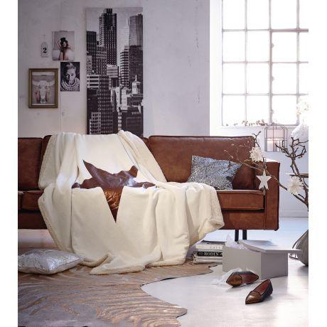 Sofa 3,5 Sitzer, Industrial-Look Vorderansicht