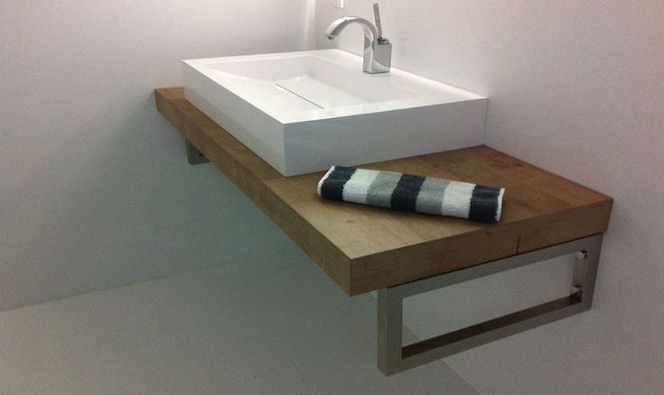 Waschtisch Holz Impressionen ~ Waschtisch selbst gemacht mit Küchenarbeitsplatte aus dem Baumarkt