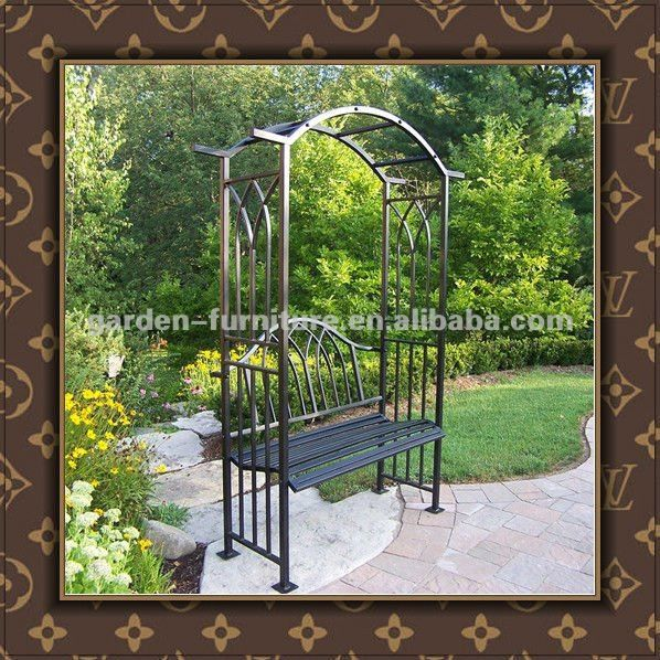 wrought iron garden arch 69 90 my garden pinterest gardens arbors trellis and arches. Black Bedroom Furniture Sets. Home Design Ideas