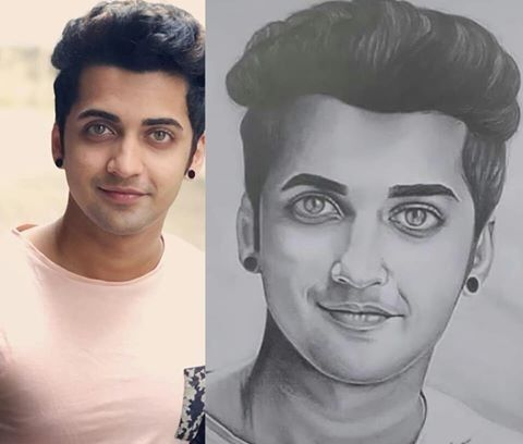 Sumedh mudgalkar cute pencil sketch 💚💚 | my sketch ✍ in