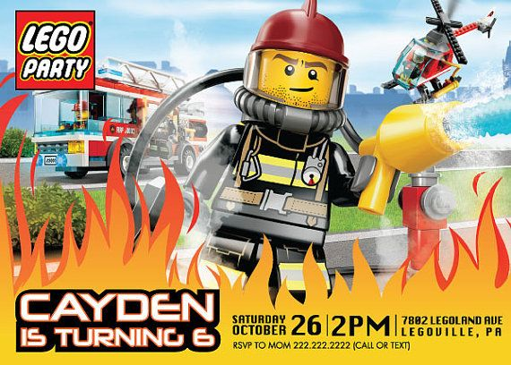 18 best Lego city birthday images – Lego City Birthday Invitations