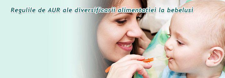 Regulile de aur ale diversificarii http://clubulbebelusilor.ro/articol/1417/regulile-de-aur-ale-diversificarii-alimentatiei-la-bebelusi.html