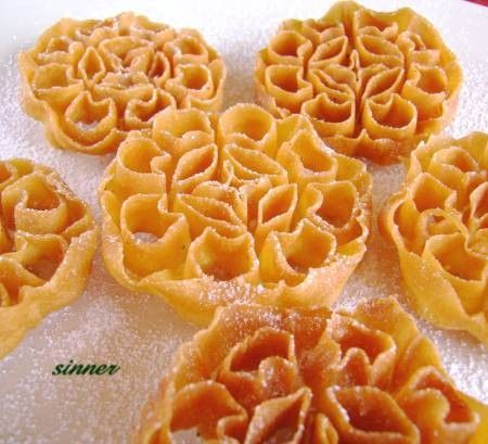 My favourite! Honeycomb Biscuit ~Kuih Loyang~Kuih Rose