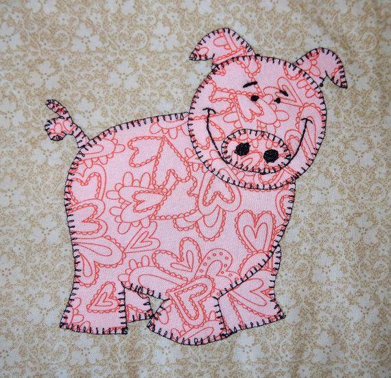 Best 25+ Farm quilt ideas on Pinterest | Farm quilt patterns, Baby ... : free baby quilt applique patterns - Adamdwight.com