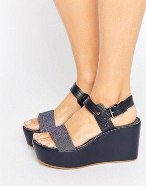 Sandalen mit Absatz | Sandalen mit Knöchelriemen und hohen Absätzen | ASOS