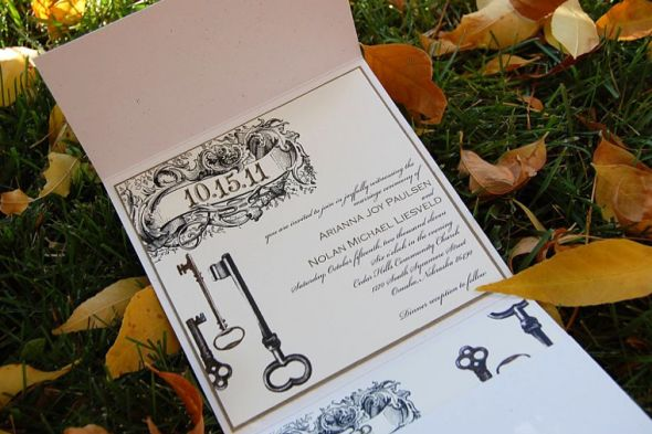 Key Themed Wedding Invitations: 41 Best Images About Wedding Theme: The Key To My Hart
