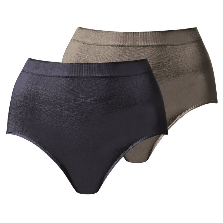Triumph Seamless Full Brief VP (Slate/Cocoa Cream)