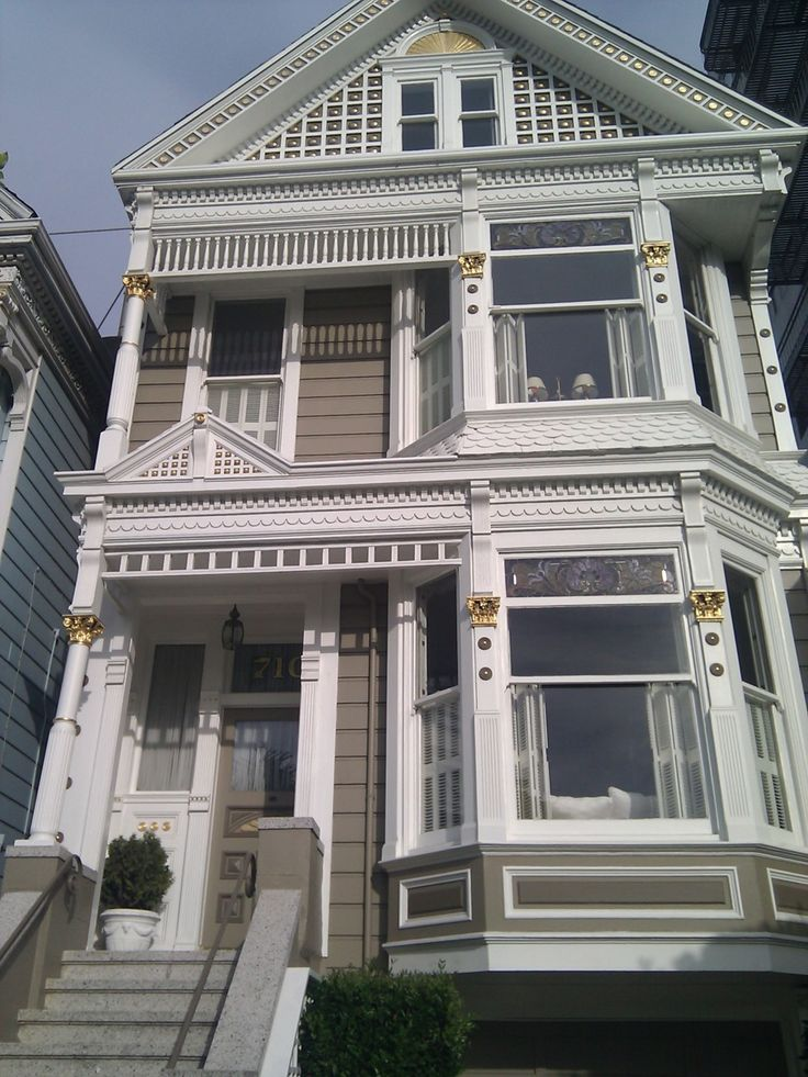 1000 images about victorian row houses on pinterest for San francisco victorian houses