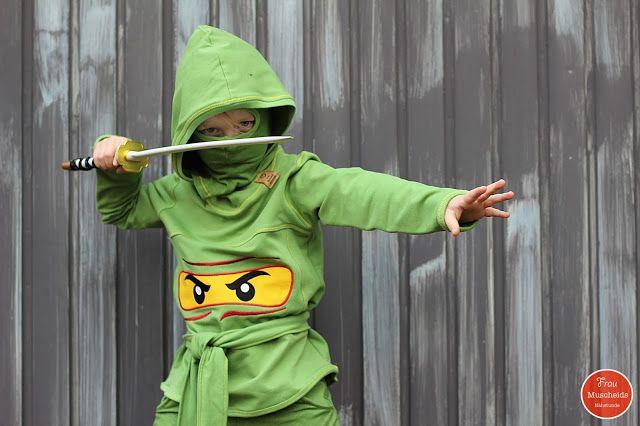 Frau Muscheids Nähstunde: Gefährlicher Ninja-Krieger oder Geburtstagswünsche...