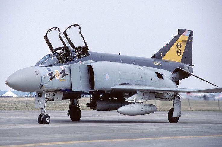 XV574\Z Phantom FG1 111 Squadron, RAF Leuchars. | par Stuart Freer - Touchdown Aviation