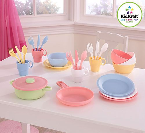 Amazon: 27 Piece Cookware Playset - Only $7.97! I know a lot of kids who would love a cookware set like this! Especially with play Kitchens being so popula