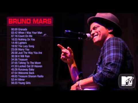 Bruno Mars ® Best songs of Bruno Mars ★★★ Bruno Mars's greatest hits 2014 - YouTube