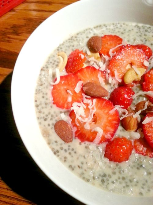 Nutrients + Delicious: Tropical Chia Seed Breakfast Bowl