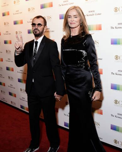 Ringo Starr and his wife Barbara Bach 2016 Kennedy Center Honors