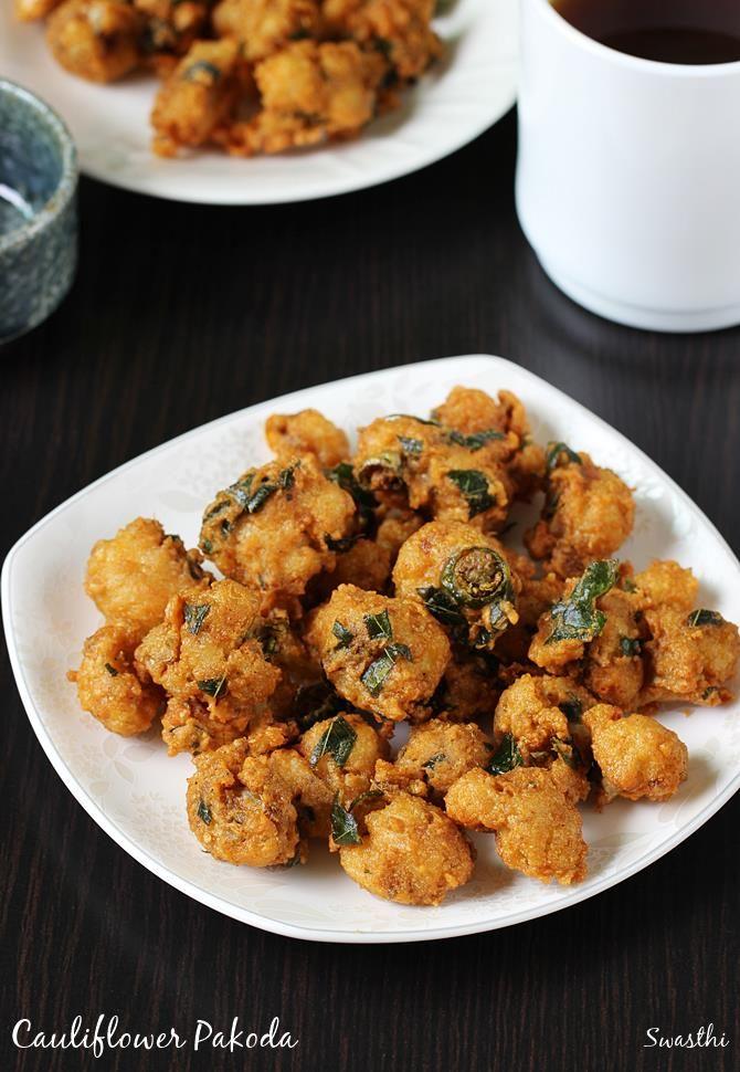 cauliflower pakoda | gobi pakora recipe | gobi recipes