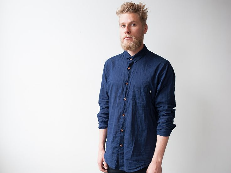 Flux - In Between Days Shirt Indigo