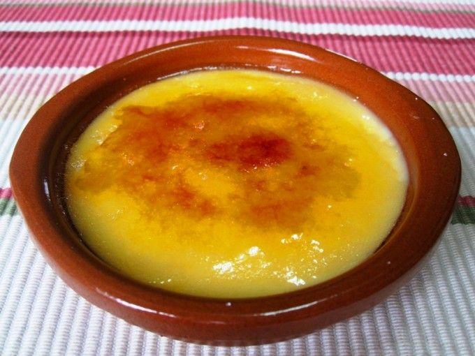 Crema catalana microondas 8 minutos