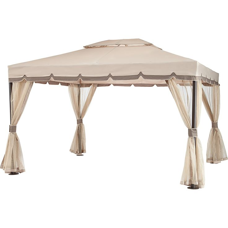 OSH Capitola 10 x 12 Replacement Canopy RipLock 350 Outdoor patio use
