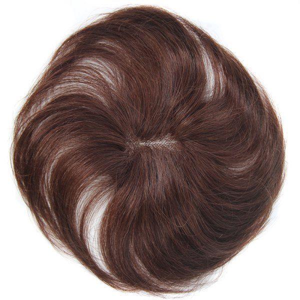 Stunning Clip-In Straight Dark Brown 100 Percent Brazilian Human Hair Toupee #men, #hats, #watches, #belts, #fashion