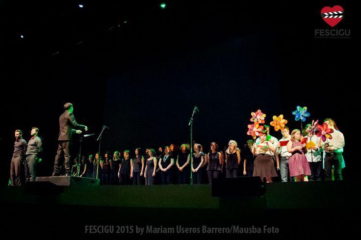 Gala Inaugural del XIII Festival de Cine Solidario de Guadalajara. Orfeón Joaquín Turina y Asociación Down Guadalajara. Fecha: 29/09/2015 Foto: Mariam Useros Barrero/Mausba Foto.