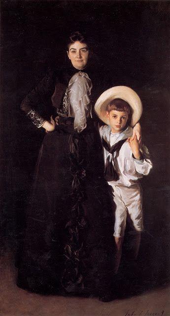 H Κυρία Edward L. Davis και ο γιος της (1890)