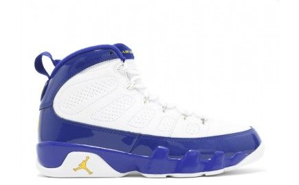 authentic air jordan 9 retro white purple kobe bryant pe for mens clearance sale