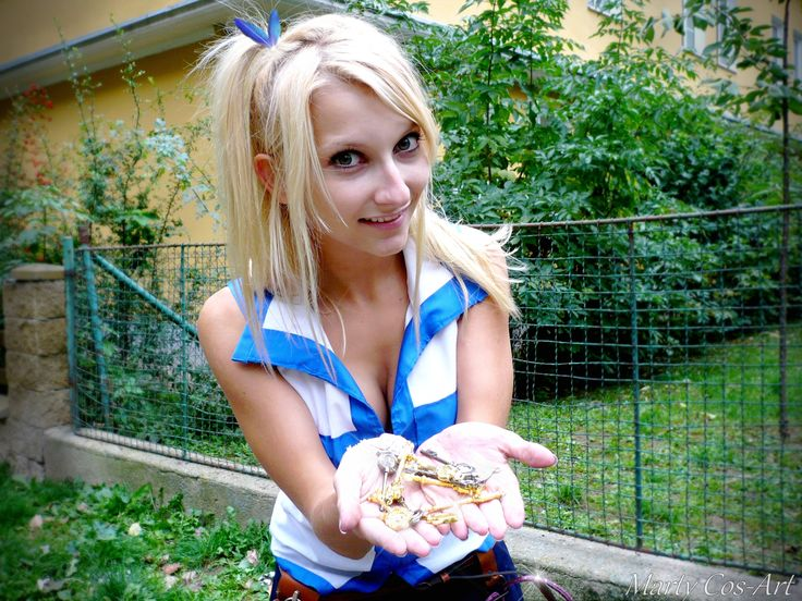 Lucy Heartfilia (Fairy Tail) - Marty Lucy Heartfilia Cosplay Photo - Cure WorldCosplay