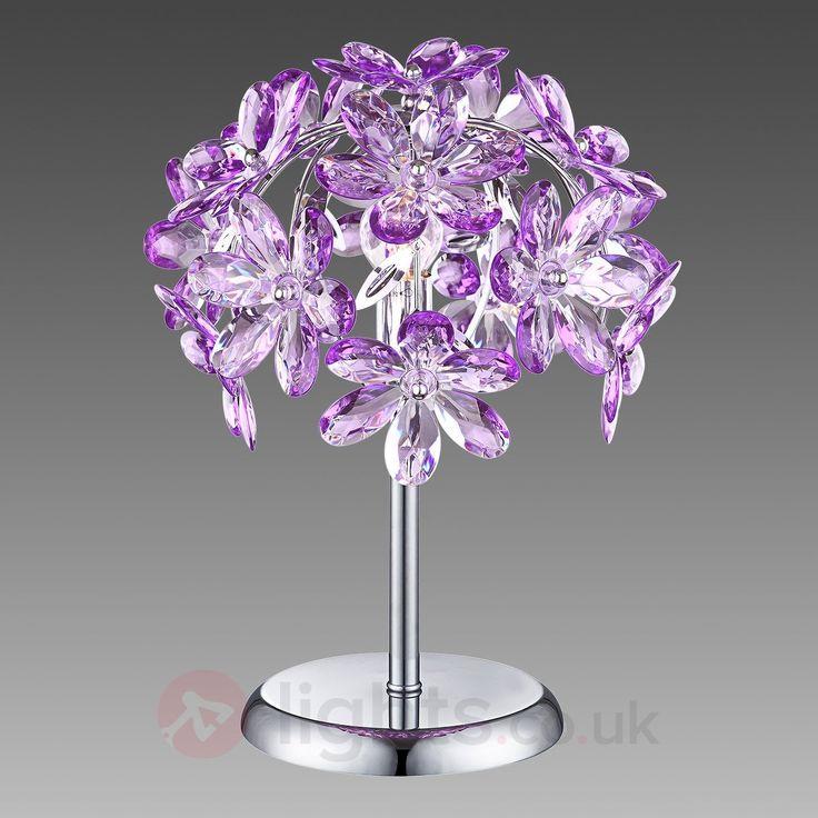 Purple Attractive Table Lamp in Purple