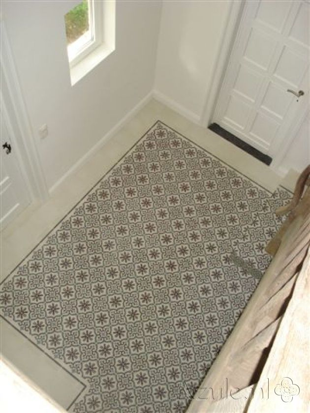 17 best images about cement tiles hallway on pinterest taupe olives and curls - Tegels taupe ...