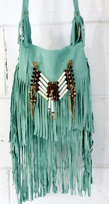 Boho~Chic Fringe Handbag: ☮Hippie Masa Group☮ #boho #hippie