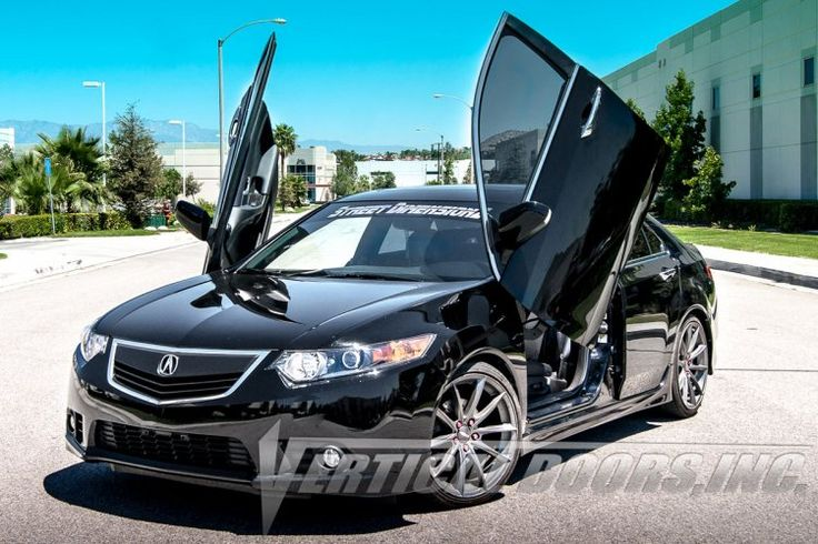Shop Acura TSX 2009-2014 lambo doors kit and have a truly exotic appearance with the stylish Lambo doors by Vertical Doors  Order now, Visit at http://verticaldoors.com/acura/tsx-09-14/lambo-doors/acura-tsx-2009-2014-4dr-vertical-lambo-doors  For sales and installation, Call us at 951.245.8669  #acura #tsx #cars #sportscars #lambodoors #autoaccessories #stylish #strongest #sales #installation #shoponline #bestprice #verticaldoors #verticaldoorsinc