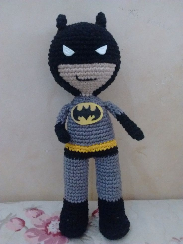 amigurumi-batman