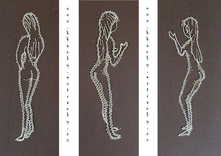 Powertex, výtvarné potřeby, hobby, kufrové trhy - Fotoalbum - Paličkovaná krajka - paličkované pany