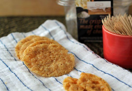 Gluten-Free Snack: Sesame Parmesan Crisps from Kitchen Table Bakers