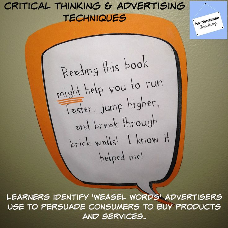 critical thinking in teaching reading