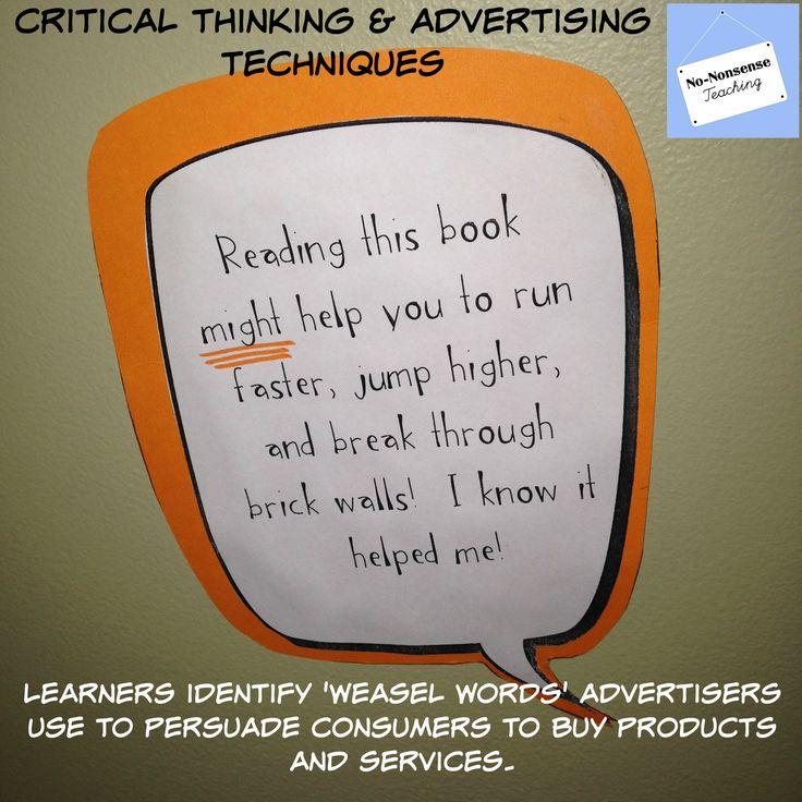 teaching critical thinking through writing