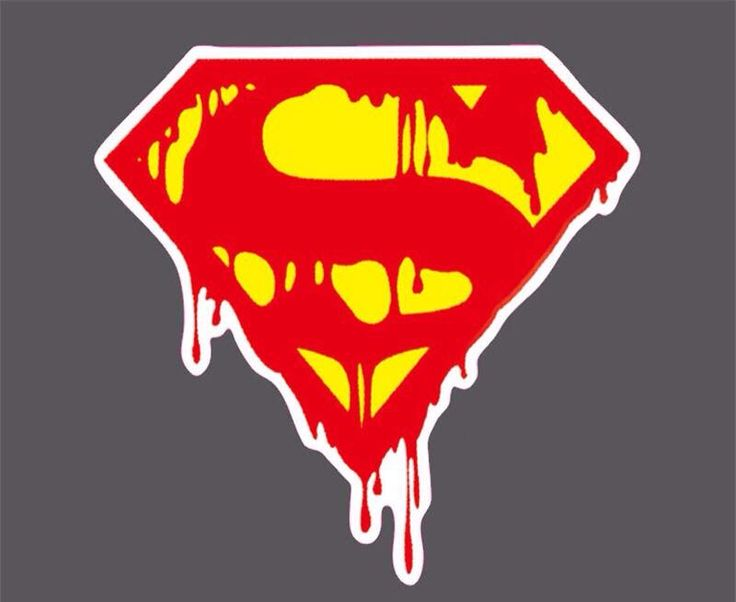 Bleeding Superman Logo