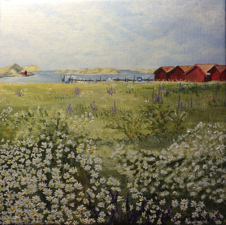 Styrsö Halsvik by Monica Lindeberg