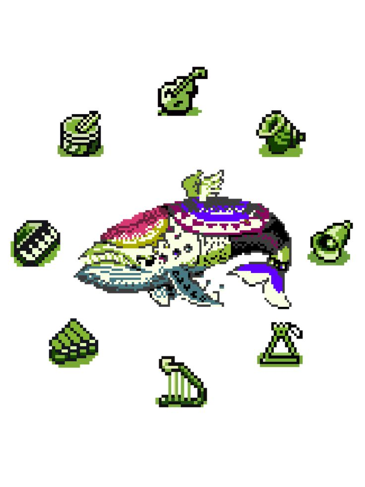 Link S Awakening 8 Bit Wind Fish Instruments Of The Sirens Pixel Art Essential T Shirt By Surik Pixel Art Art Essentials Tshirt Colors