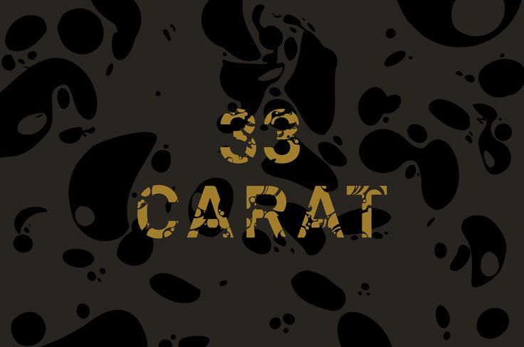 33 Carat NMIT Graduate Exhibition · Design by A Friend of Mine Design Studio