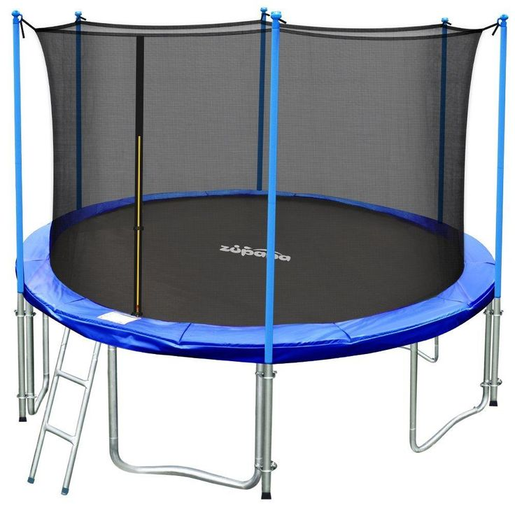 Zupapa 10FT Trampoline with Enclosure Inner Net